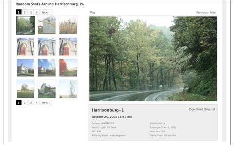 Galleriffic | A jQuery plugin for rendering fast-performing photo galleries