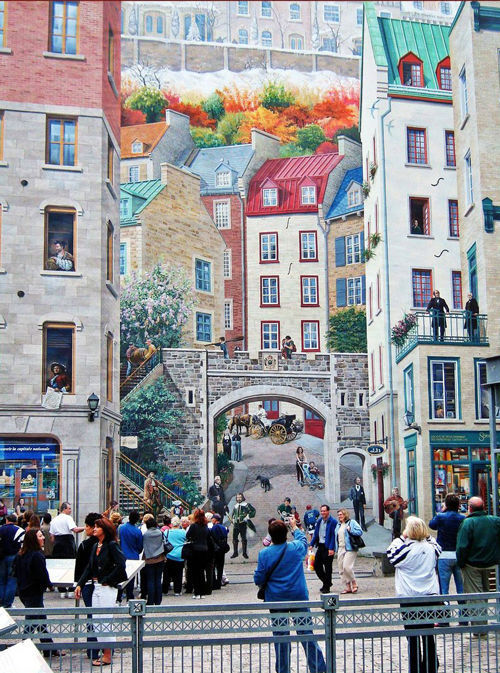 60 Marvellous Wall Paintings And 3 D Street Art Noupe