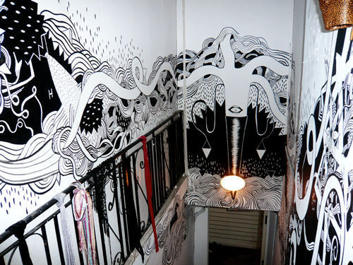 Wall Painting Design For Cafe : Marvellous wall paintings and d street art noupe