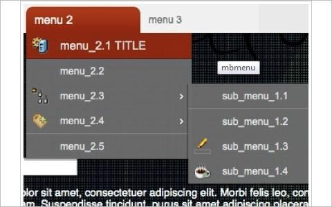 jQuery (mb)Menu 2.6 (New!)