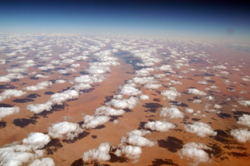 Aerial Photography - Clouds over the Sahara