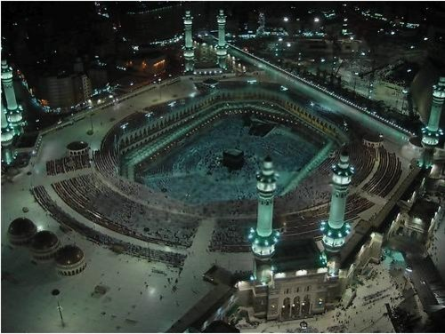 Aerial Photography - The Great Mosque, Makkah, Mecca