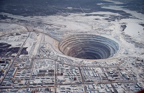 Aerial Photography - Mirny diamond mine