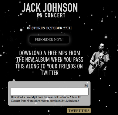 Screenshot of Jack Johnson