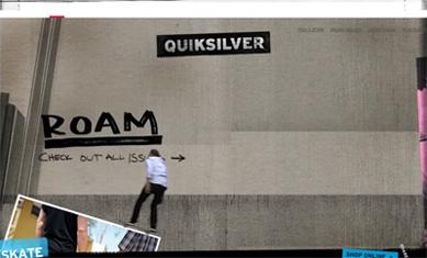 Screenshot of Quiksilver