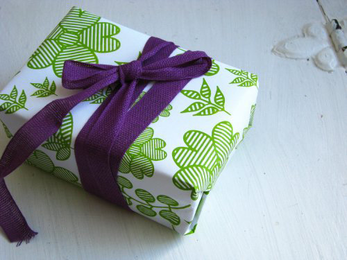 Gift wrap collaboration