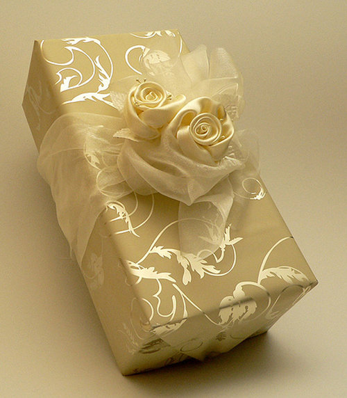 Wedding gift packaging