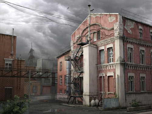 3d Buildings-13 in Mind Blowing 3D Rendering Artworks