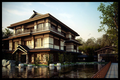 3d Buildings-4 in Mind Blowing 3D Rendering Artworks