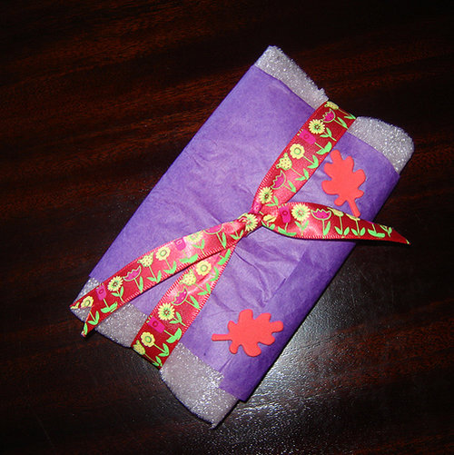 I love to wrap up gifts!