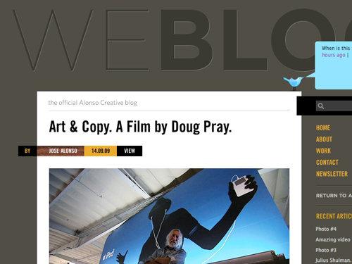 Alonso Creative Blog