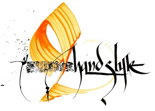 Asemic2 in Calligraphy and Handwriting Showcase