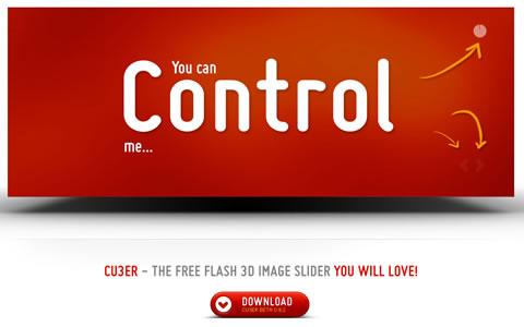 cu3er - The Free Flash 3D Image Slider
