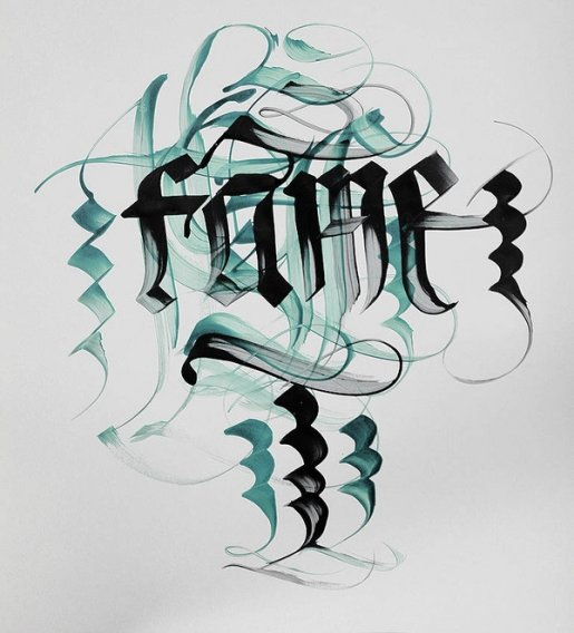 Extreme2-calligraphy in Calligraphy and Handwriting Showcase