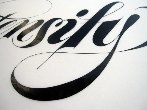 Intensify-calligraphy in Calligraphy and Handwriting Showcase