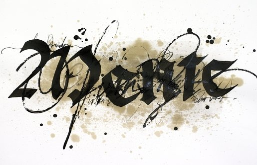 Karin-calligraphy in Calligraphy and Handwriting Showcase