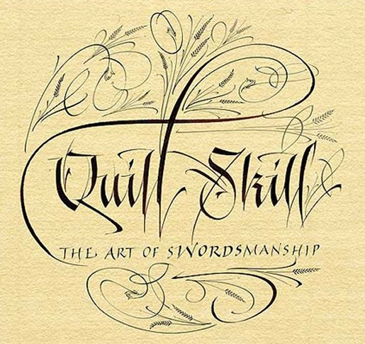 Quill-calligraphy in Calligraphy and Handwriting Showcase