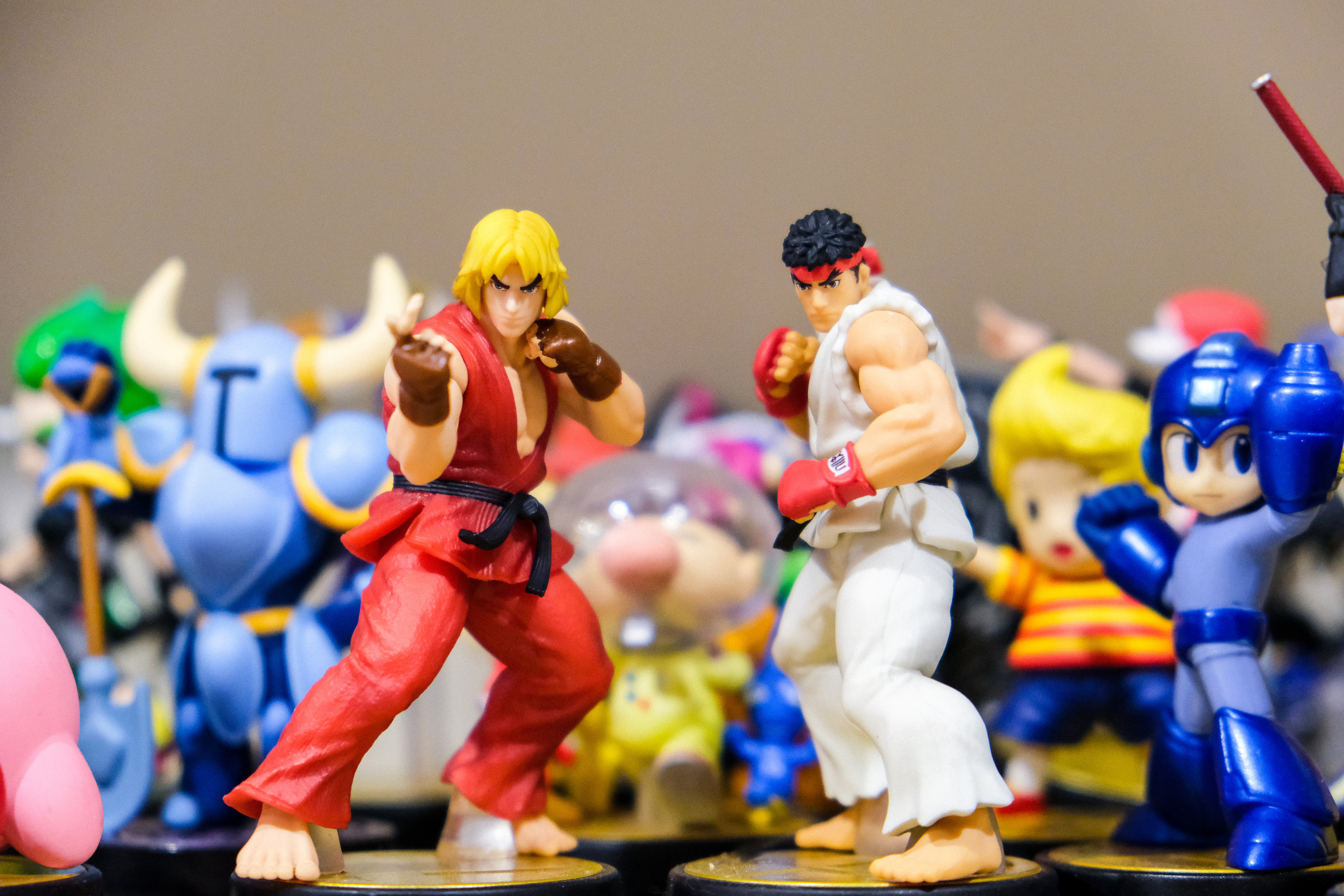 Street Fighter Characters Beautiful Illustrations And Wallpapers