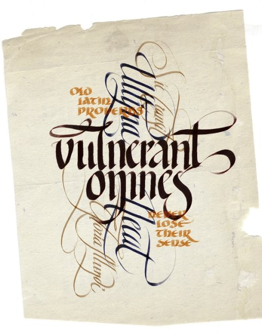 Unlimited-calligraphy in Calligraphy and Handwriting Showcase
