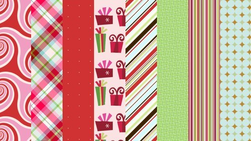 Christmas 2009 By Camxso-christmas in The Ultimate Christmas Round-Up: Patterns, Brushes, Vectors and Fonts