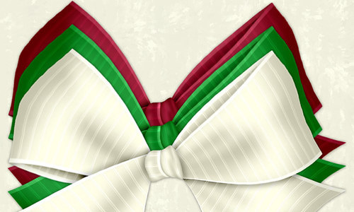 Christmas Bows 3-christmas in The Ultimate Christmas Round-Up: Patterns, Brushes, Vectors and Fonts
