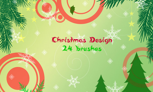 the ultimate christmas round-up: patterns, brushes, vectors and