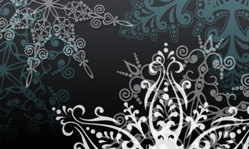 Snowtime By Crazy Alice-christmas in The Ultimate Christmas Round-Up: Patterns, Brushes, Vectors and Fonts