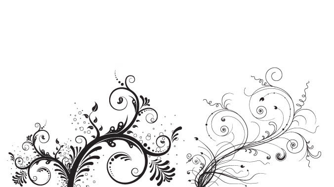 Floral Ornaments-preview-christmas in The Ultimate Christmas Round-Up: Patterns, Brushes, Vectors and Fonts