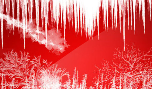 Icy-christmas in The Ultimate Christmas Round-Up: Patterns, Brushes, Vectors and Fonts