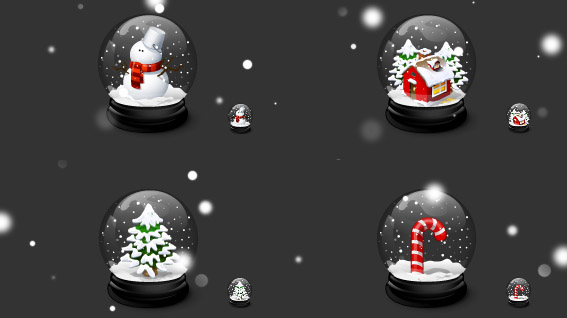 My Chritmas-christmas in The Ultimate Christmas Round-Up: Patterns, Brushes, Vectors and Fonts