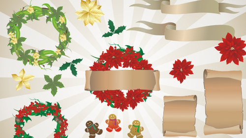 P M-christmas in The Ultimate Christmas Round-Up: Patterns, Brushes, Vectors and Fonts