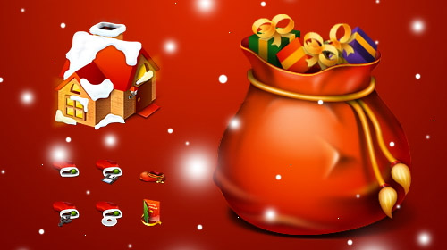 Red-christmas-christmas in The Ultimate Christmas Round-Up: Patterns, Brushes, Vectors and Fonts