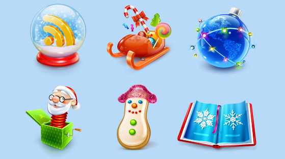 Smashing-icons-christmas in The Ultimate Christmas Round-Up: Patterns, Brushes, Vectors and Fonts