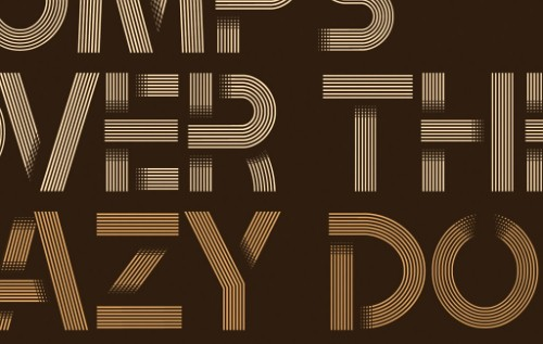 Tribbon 'Layered' Font – Exclusive Free Download