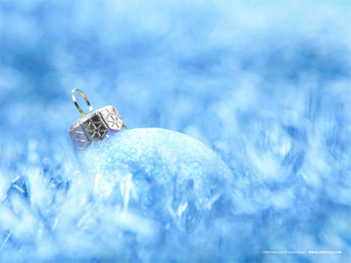 Wallpaper-christmas-ornament-blue in Beautiful Christmas and Winter Wallpapers For Your Desktop