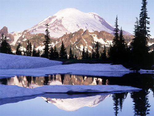 Wallpaper-landscape-winter-mountains-lake-reflection-2 in Beautiful Christmas and Winter Wallpapers For Your Desktop