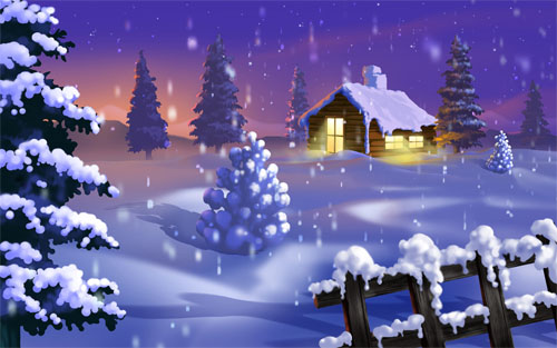 Beautiful Christmas and Winter Wallpapers For Your Desktop  noupe