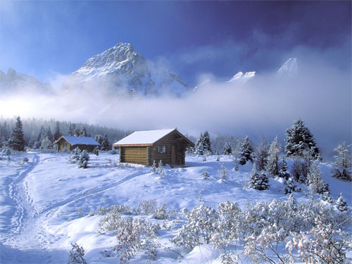Wallpaper-winter-landscape-mountains-snow-3 in Beautiful Christmas and Winter Wallpapers For Your Desktop