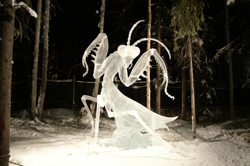 how to make ice sculptures clear