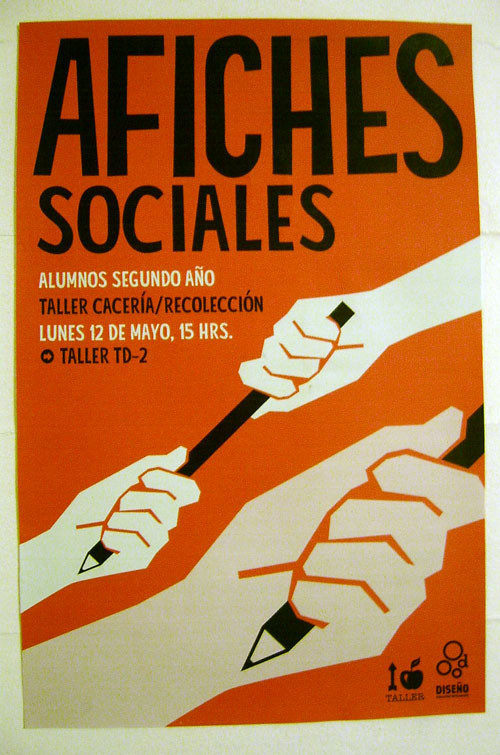 Political Posters - afiches caceria recolecci