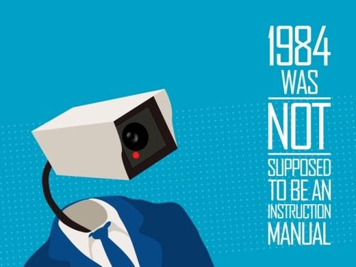 Political Posters - 1984 - not an instruction manual - other wallpaper 19908 - desktop nexus abstract