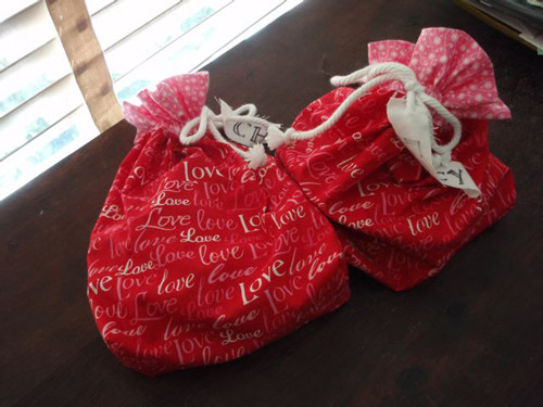 Reusable Valentine's Bags