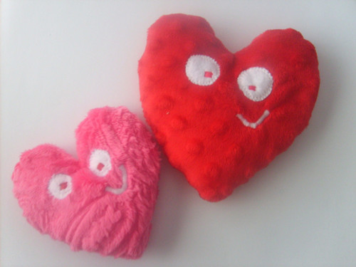 Valentine's Day Heart Rice Bag Set