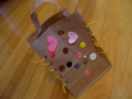 Pearl's Valentine bag