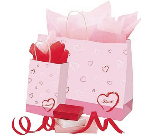 Scattered Hearts Gift Bags
