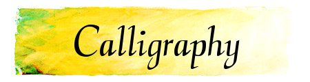 CalligraphyFLF free font