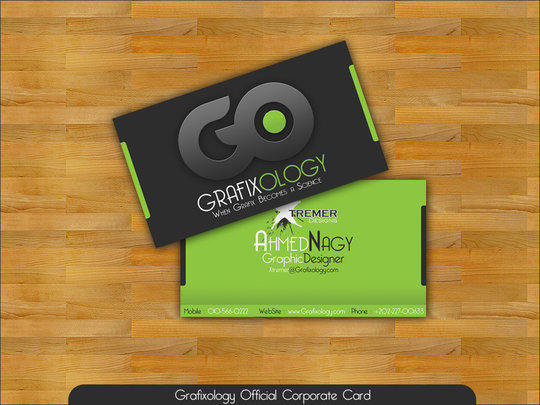 Business Card Design: XtrDesign - Business Card