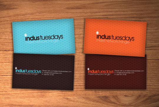 Business Card Design: MolefaceNZ - .:Indus Tuesdays:.