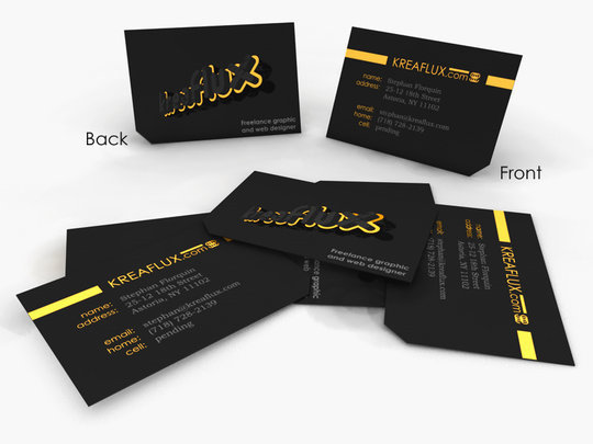 55 beautiful business card designs the jotform blog business card design stephan florquin business card design concept render reheart Gallery