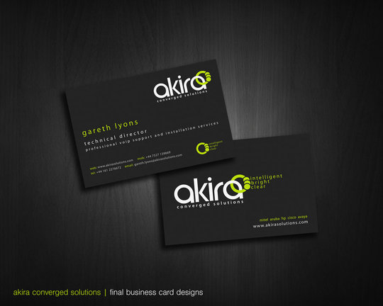 50 beautiful business card designs noupe business card design daan rutgers akira business cards render reheart Gallery